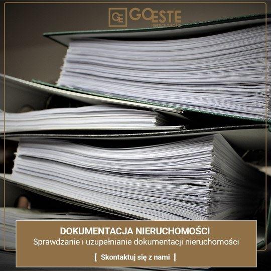 goeste nieruchomosci sprawdzanie dokumentacji - Goeste